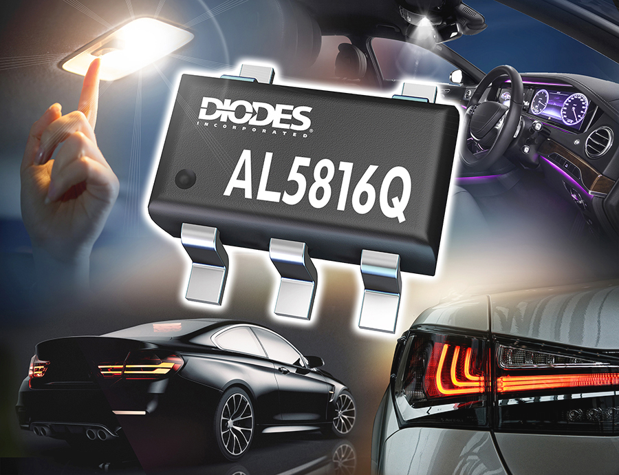 Diodes Inc. Launches New LED Driver-Controller for Automotive Applications